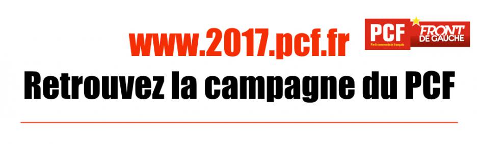Retrouvez la campagne du PCF